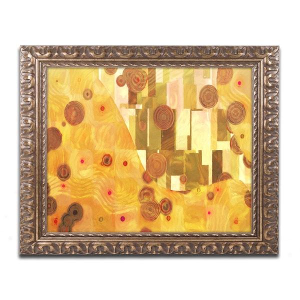 Adam Kadmos 'GoldenAge' Ornate Framed Art