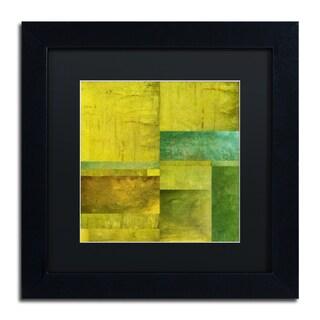 Michelle Calkins 'Essence of Green' Matted Framed Art