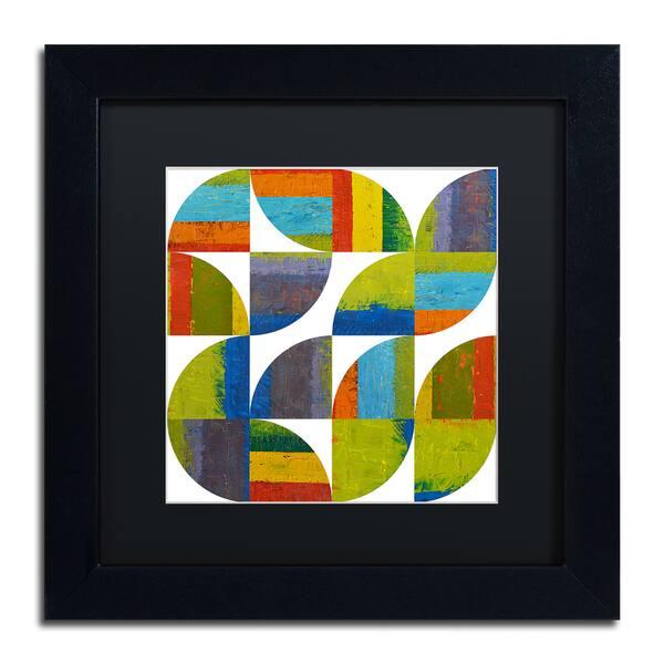 Michelle Calkins Quarter Rounds 4 0 Matted Framed Art Overstock 12086045