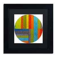 Michelle Calkins 'Round' Matted Framed Art