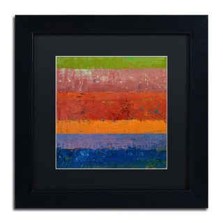 Michelle Calkins 'Poppies' Matted Framed Art