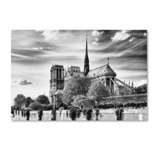 Philippe Hugonnard 'Notre Dame Cathedral Paris' Canvas Art