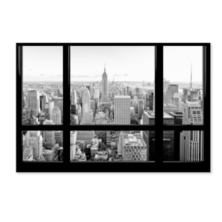 Philippe Hugonnard 'View of New York City' Canvas Art