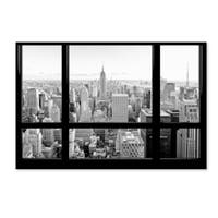 Philippe Hugonnard 'View of New York City' Canvas Art - Multi