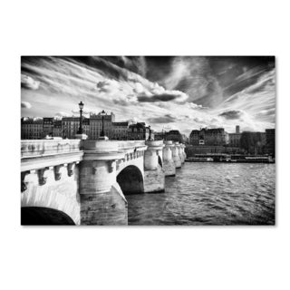 Philippe Hugonnard 'Paris Bridge' Canvas Art