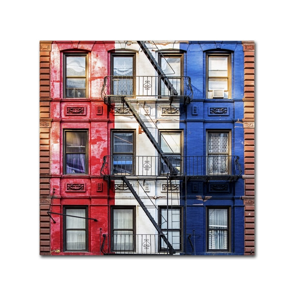 Philippe Hugonnard 'American Colors' Canvas Art