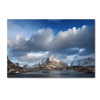 Philippe Sainte-Laudy 'Happy Hour in Norway' Canvas Art