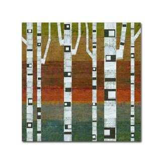 Michelle Calkins 'Birches' Canvas Art