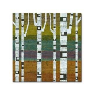 Michelle Calkins 'Birches 2.0' Canvas Art