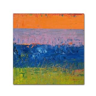 Michelle Calkins Thistle Field Canvas Art Multi Overstock 12086305
