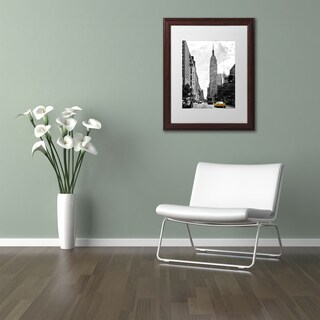 Philippe Hugonnard 'Living in New York' Matted Framed Art