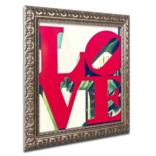 Philippe Hugonnard 'LOVE' Ornate Framed Art