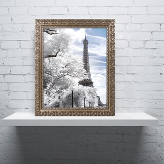 Philippe Hugonnard 'Another Look at Paris I' Ornate Framed Art