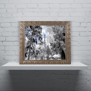 Philippe Hugonnard 'Another Look at Paris II' Ornate Framed Art