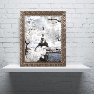 Philippe Hugonnard 'Another Look at Paris IV' Ornate Framed Art