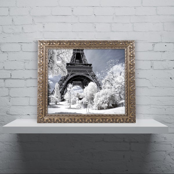 Philippe Hugonnard 'Another Look at Paris VIII' Ornate Framed Art