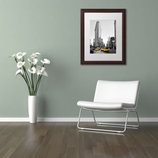 Philippe Hugonnard 'Flatiron Building NYC' Matted Framed Art
