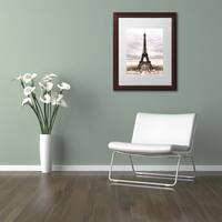 Philippe Hugonnard 'The Eiffel Tower' Matted Framed Art