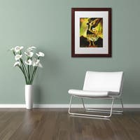 Sergio Cruze 'An Angel' Matted Framed Art
