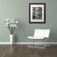 Philippe Hugonnard 'New York Facade' Matted Framed Art