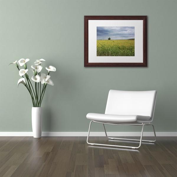 Kurt Shaffer 'Ohio Countryside' Matted Framed Art