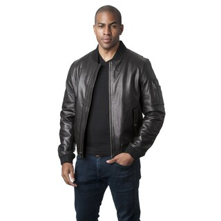 Mason & Cooper Men's Leather Flight Jacket (More options available)