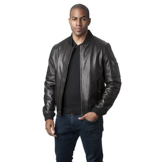 Mason & Cooper Men's Leather Flight Jacket
