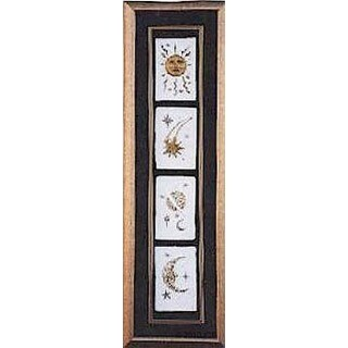 Cast Paper 'Celestial Collection' 10x32 Indoor or Outdoor Option Available