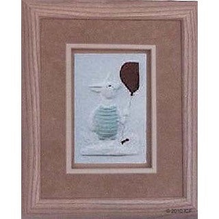 Cast Paper 'Piglet' 10x12 Indoor or Outdoor Option Available