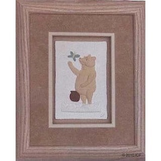 Cast Paper 'Winnie The Pooh' 10x12 Indoor or Outdoor Option Available