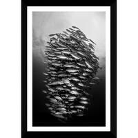 Craig Dietrich 'Tornado' Framed Plexiglass Underwater Photography