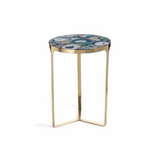 Blue Agate End Table