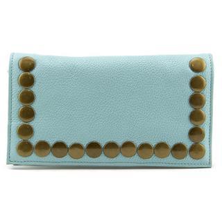 Latico Women's 'Alyssa Small Wallet' Blue Leather Handbags