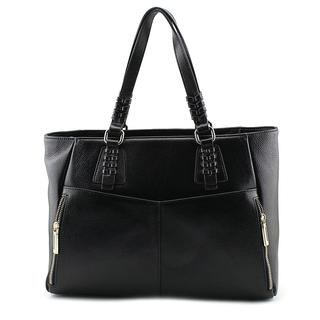 Zenith Women's 5206 Black Leather Handbag