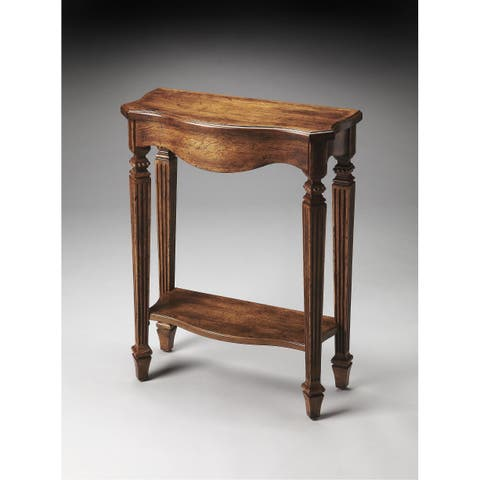 Handmade Butler Cheshire Dark Toffee Console Table (China)
