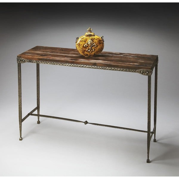 Handmade Butler Mountain Lodge Console Table (India)