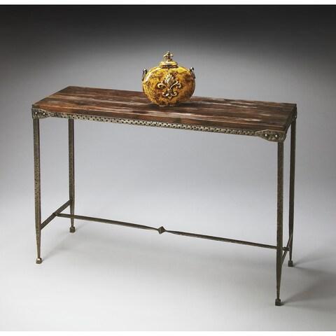 Handmade Butler Mountain Lodge Console Table (India)