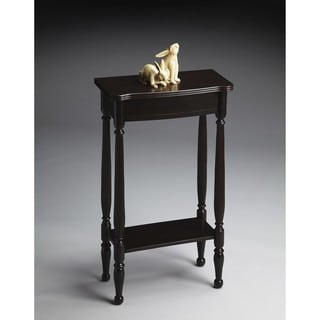 Butler Whitney Rubbed Black Console Table