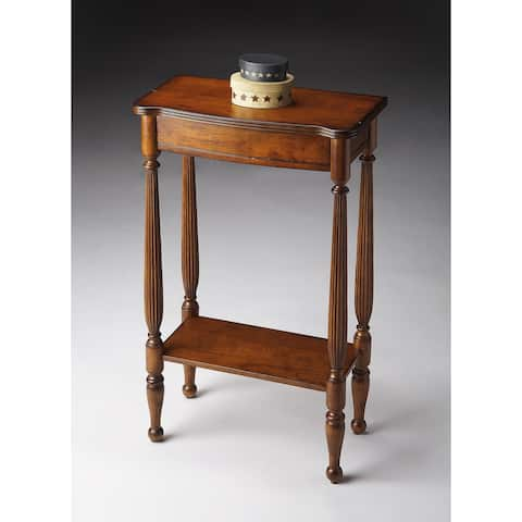 Butler Whitney Antique Cherry Rectangular Console Table - Medium Brown