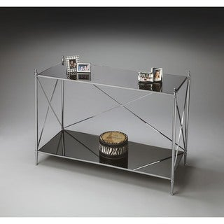 Handmade Butler Nickel Console Table (India)