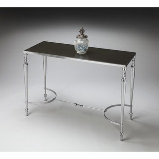 Butler Nickel Console/Sofa Table