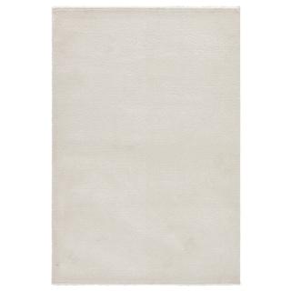 "Finn Solid White Area Rug (2' X 3'11"")"