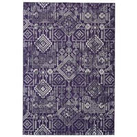 Grand Bazaar Undira Violet Area Rug (8' x 11') - 8' x 11'