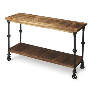 Butler Fontainebleau Industrial Chic Console Table