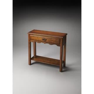 Butler Stratford Olive Ash Burl Console Table