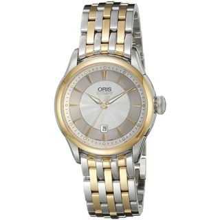 Oris Women's 56176044351MB 'Artelier' Automatic Two-Tone Stainless Steel Watch