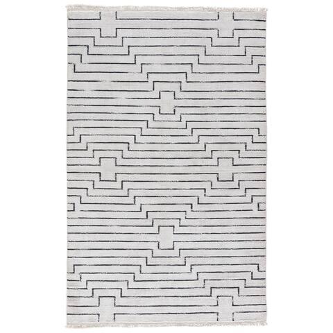 Zolin Handmade Geometric Area Rug