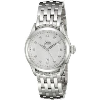 Oris Women's 56176044041MB 'Artelier' Diamond Automatic Stainless Steel Watch