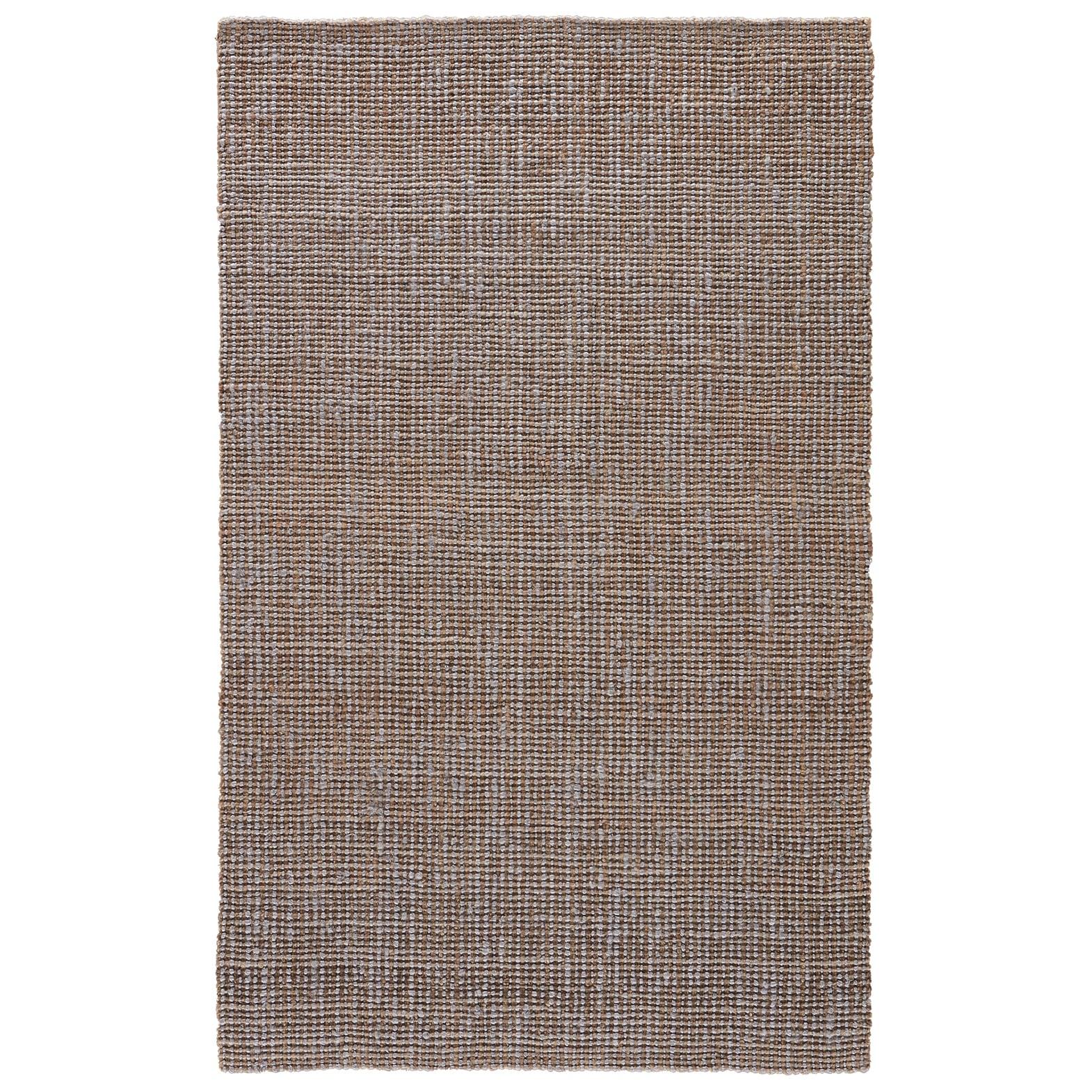 Juniper Home Mandeville Natural Solid Tan/ Gray Area Rug ...