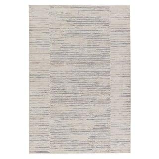 "Holt Stripe Cream/ Blue Area Rug (7'6"" X 9'6"")"